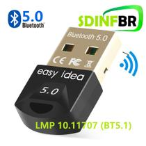 Adaptador usb bluetooth 5.0 real pc win xbox ps4 easy idea rtl8761b - Easyidea