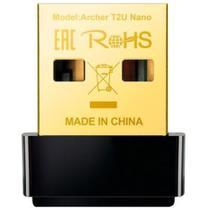 Adaptador usb dual band wireless ac600 archer t2u nano tp-link -