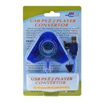 Adaptador Usb Duplo Compatível Com Controles Ps2 E Ps1 Ligue No Computador E Playstation 3 - Techbrasil