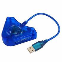 Adaptador Usb Duplo Para Controles Ps2 Ps1 Para Ps3 E Pc - Play Game