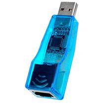 Adaptador Usb para Rede Cabo Rj45 Lan Externo Ethernet Plug And Play favix - WLXY