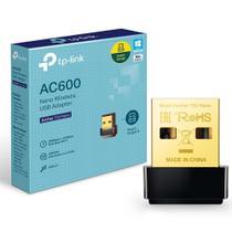 Adaptador Usb Wireless Ac600 Archer T2u Nano Tp-link - Tplink