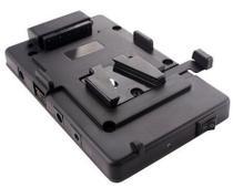 Adaptador V-Mount USB e Alimentação LP-E6 para Canon 5D Mark III, 5DII, 7D, 60D e 70D - Rolux / Worldview