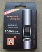 Adaptador Wireless 2.4 GHz Usb Wi fi 600mbps - Bgn