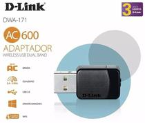 Adaptador Wireless D-Link AC 600Mbps (DWA-171/DR) Gamer - D link