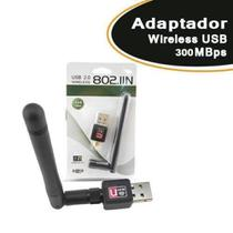 Adaptador Wireless USB 300 Mbps 7dBi - Xtrad