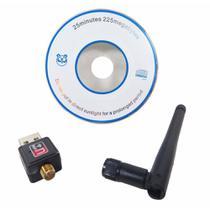 Adaptador Wireless USB Wifi 900 Mbps Sem Fio Lan Antena - Feir