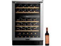 Adega Climatizada Brastemp 51 Garrafas - Gourmand + Vinho Tinto Seco Casal Garcia 750ml