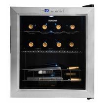 Adega climatizada lyon 13 garrafas inox 220v suggar ad1522ix -