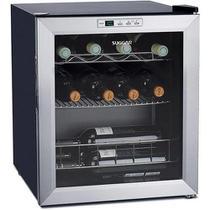 Adega Climatizada Suggar Lyon 220v 13 Garrafas Resfriamento por Compressor - Inox -