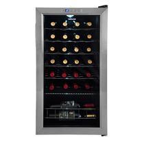 Adega climatizada toulouse 29 garrafas inox 127v suggar ad2711ix -