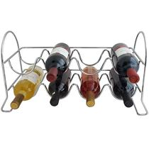 Adega Componível Empilhável Suporte Porta 8 Garrafas Vinho - Zanline