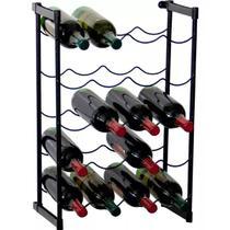 Adega de Vinho de Chão Rack Porta Até 20 Garrafas - Metaltru -