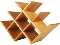 Adega de Vinho de Mesa 8 Garrafas Mor - Bamboo