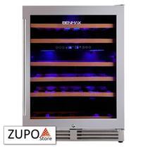 Adega de Vinhos Climatizada para 51 Garrafas de Vinho com Temperatura Dual Zone Benmax - BAC51 - 127V -