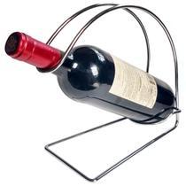 Adega Única Suporte Para Garrafa De Vinho 1l Bancada Mesa - Zanline