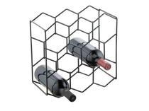 Adega vinhos colmeia Preto 8 garrafas Forma 804142 - Forma Inox