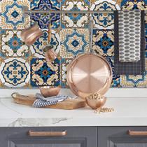 Adesivo de Azulejo Braga 10x10 cm com 200un - Quartinhos