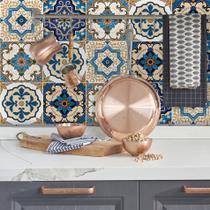 Adesivo de Azulejo Hidráulico Braga 15x15 cm com 36un - Quartinhos