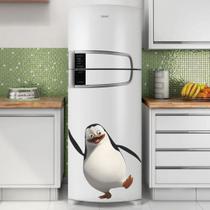 Adesivo de Geladeira Pinguim de Madagascar Feliz - Casa Harmonia