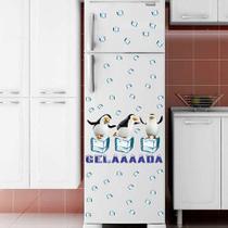 Adesivo de geladeira pinguin 51x26cm - Oitonline