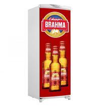 Adesivo De Geladeira Porta Cerveja Brahma 3 Garrafas Logo - 180x65cm - Sunset Shop