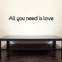Adesivo de Parede - All you need is love - 020frp - Allodi