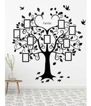 Adesivo De Parede Árvore Genealógica Fotos Da Família - Papeldepare.De