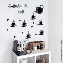 Adesivo de Parede Cantinho do Café - Luc Comunicação