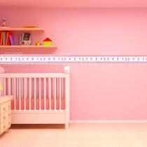 Adesivo de Parede Faixa Decorativa Para Quarto Infantil Bailarina - Decore Fácil