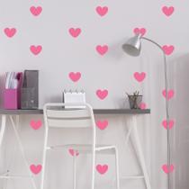 Adesivo de Parede Infantil Coração Rosa - Quartinhos