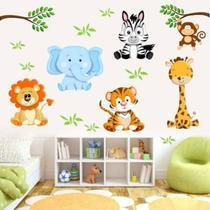 Adesivo De Parede Infantil Safari - Saf02 - Adc