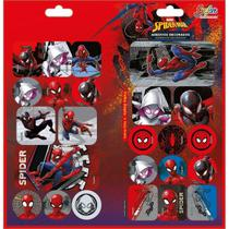 Adesivo decorado duplo spider-man - Tilibra