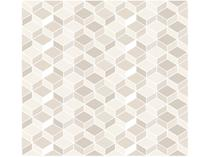 Adesivo Decorativo Bege Geométrico - Bobinex Uau! 45cmx200cm