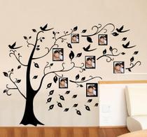 Adesivo Decorativo de Parede Árvore Porta Retrato - Gaudesivos