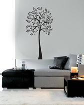 Adesivo Decorativo de Parede Floral Árvore Florido - Gaudesivos