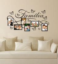 Adesivo Decorativo de Parede Para colocar Foto e Retrato Família Sala Quarto - Gaudesivos