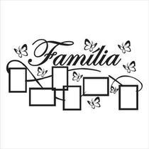 Adesivo Decorativo De Parede Porta Retrato Família - Pimenta Criativa