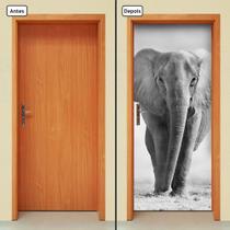 Adesivo Decorativo de Porta - Elefante - 212cnpt - Allodi