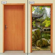 Adesivo Decorativo de Porta - Natureza - Paisagem - 1109cnpt - Allodi