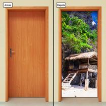 Adesivo Decorativo de Porta - Natureza - Paisagem - 1268cnpt - Allodi