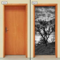 Adesivo Decorativo de Porta - Natureza - Paisagem - 1305cnpt - Allodi