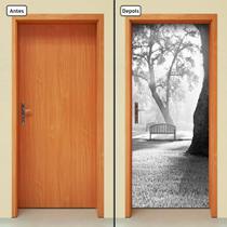 Adesivo Decorativo de Porta - Natureza - Paisagem - 1306cnpt - Allodi