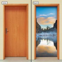 Adesivo Decorativo de Porta - Natureza - Paisagem - 1311cnpt - Allodi