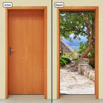 Adesivo Decorativo de Porta - Paisagem - 265cnpt - Allodi