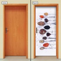 Adesivo Decorativo de Porta - Temperos - 501cnpt - Allodi