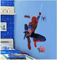 Adesivo Decorativo Homem Aranha Infantil Criança Sala Laváve - Casa Milagrosa