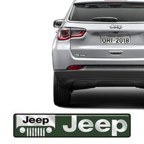 Adesivo Emblema Jeep, Cherokee, Renegade, Compass Resinado - Sportinox
