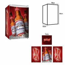 Adesivo Envelopamento De Frigobar BD006 Budweiser Md90 - Geladeiramania