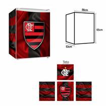 Adesivo Envelopamento De Frigobar FL021 Flamengo Md65 - Geladeiramania